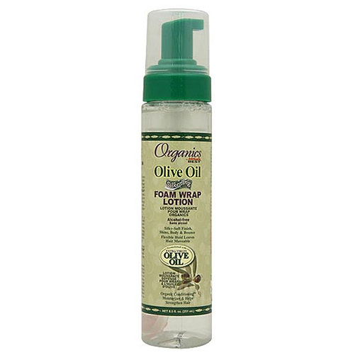 Organics Olive Oil Silkening Foam Wrap Lotion 251 ml