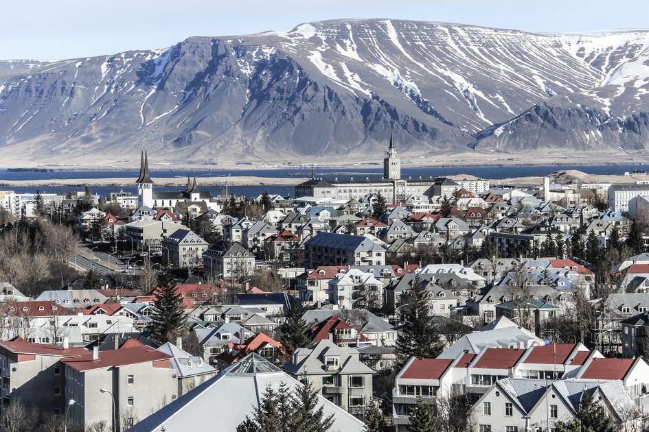 """""""Reykjavik"""" Iceland. 2018"""