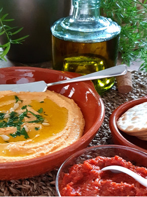 Flavours, ingredients, and inspirations of healthy Mediterranean cooking