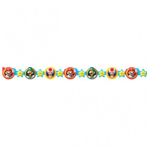 Super Mario Brothers™ Die-Cut Paper Garland