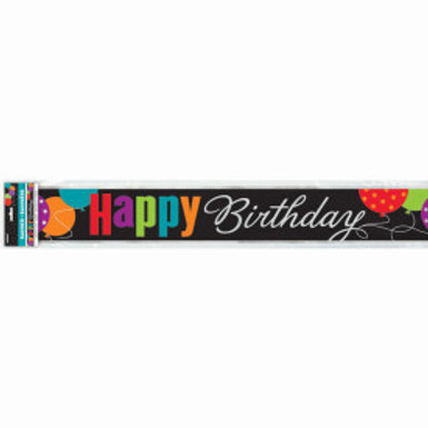 Birthday Cheer Foil Banner