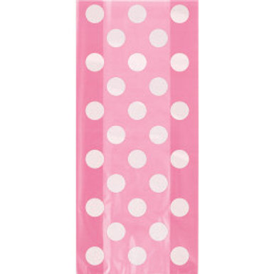 HOT PINK DOTS CELLO BAGS