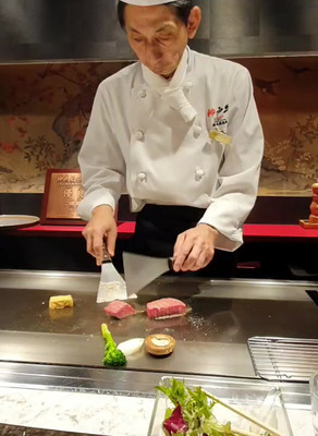 Chef Eliane in Japan