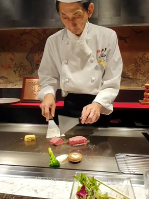 Chef Eliane in Japan