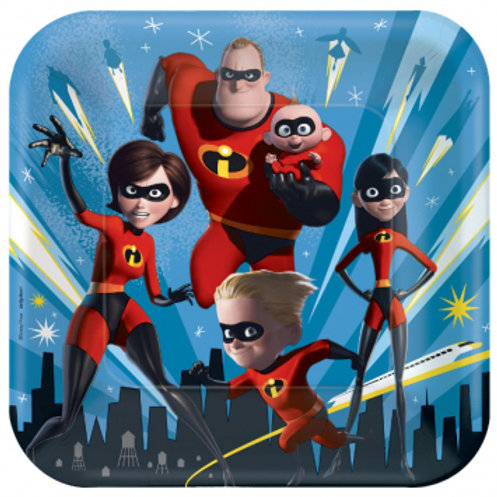 Incredibles Dinner Square Plate