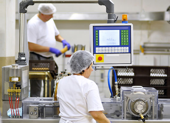 food industry - biscuit production in a