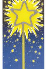 Sparkler Candle Star-Shaped