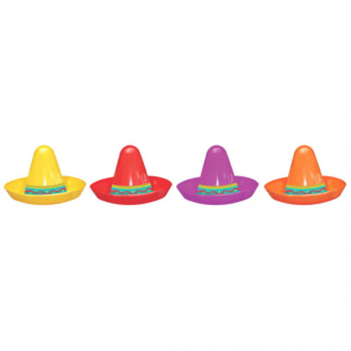 Fiesta Sombrero Mini Pl Asst