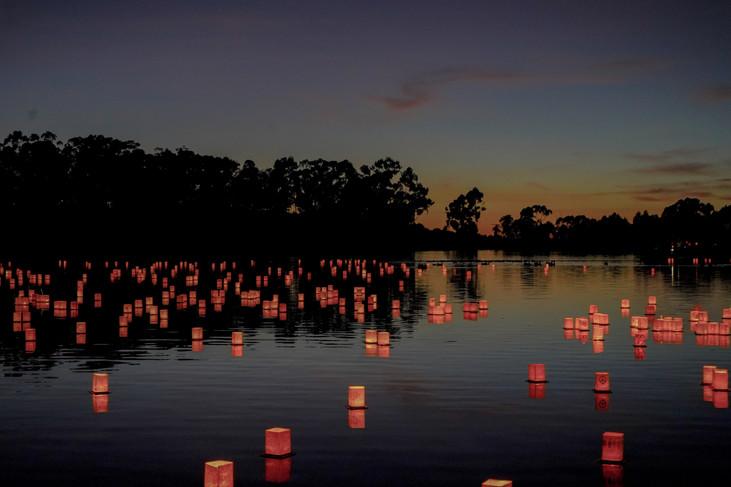 """Candlelight Flow"" San Diego, California. 2018"