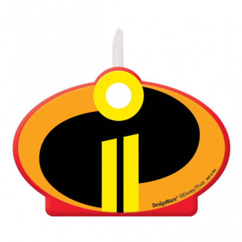 Incredibles Birthday Candle
