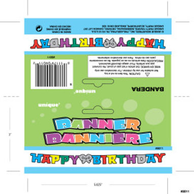 Deluxe Birthday Jointed Banner