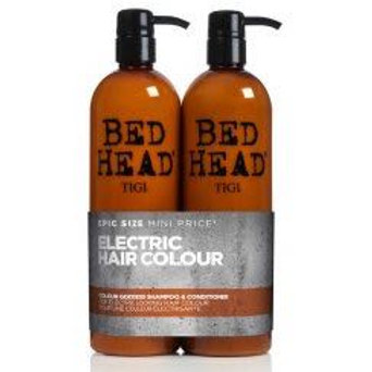 BED HEAD Colour Goddess Shampoo & Conditioner 750ml Tween