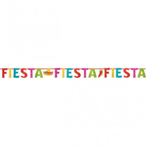 Fiesta Bnr Glitter Letter