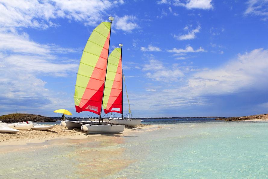 Hobie cat catamaran formentera beach Ill