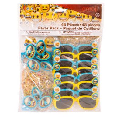 Emoji Favor Pack 48pc