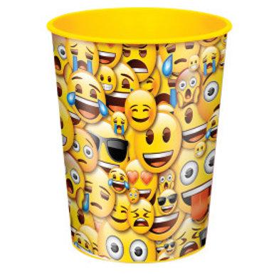 Emoji Smile 16oz Plastic Cup