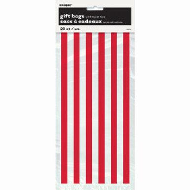 Cello Bag-Red stripe