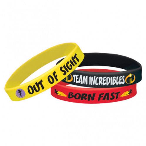 Incredibles 2 Rubber Bracelets