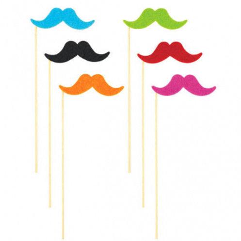 Fiesta Moustache On A Stick