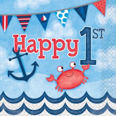 Nautical 1st Birthday Bev Nap