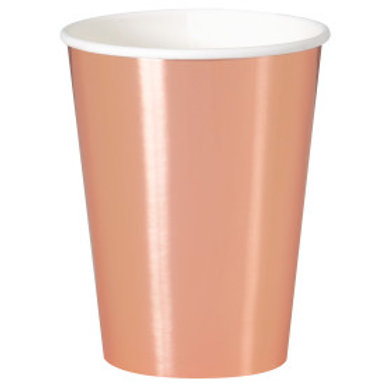 ROSE GOLD 12OZ CUP