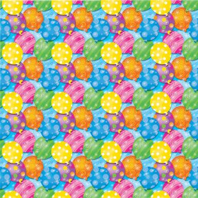 Twinkle Balloons Gift Wrap