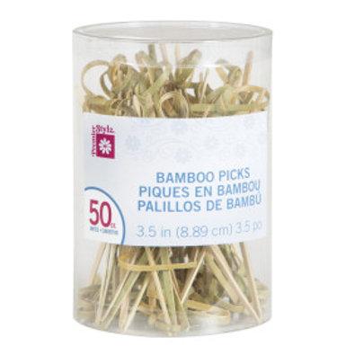 "50 3.5"" BAMBOO PICKS (PZ)"