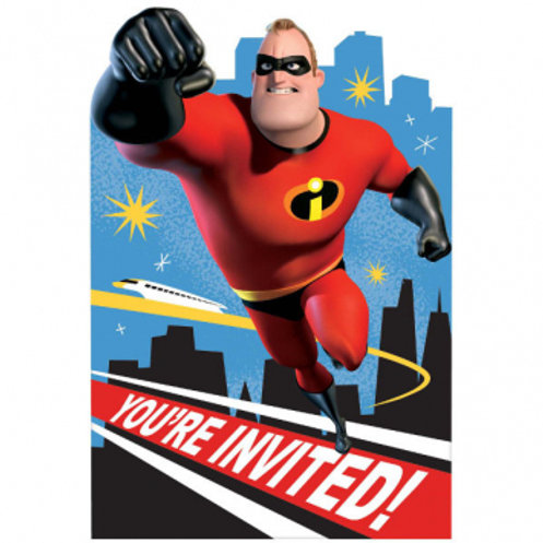 Incredibles Invite