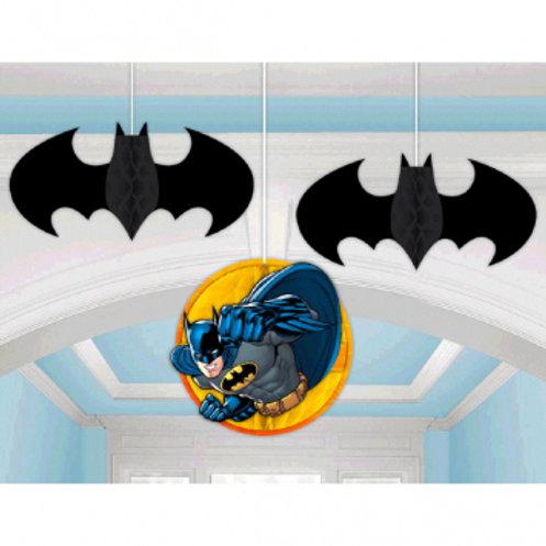 Batman™ Honeycomb Decorations