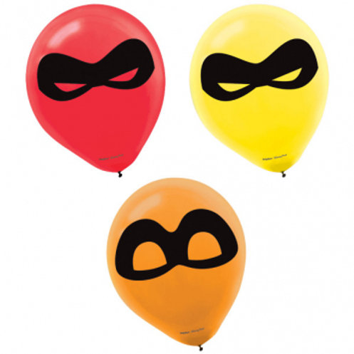 Incredibles Printed Latex Balloons