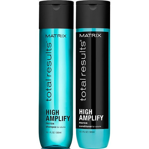 Total Results High Amplify Shampoo and Conditioner 300ml