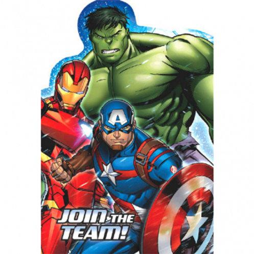 Epic Avengers Invite