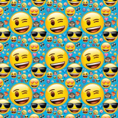 """Emoji Gift Wrap - 30"""" x 5Ft"""