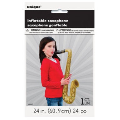 "24"" INFLATABLE SAXOPHONE"