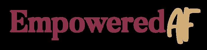 Empowered AF Logo