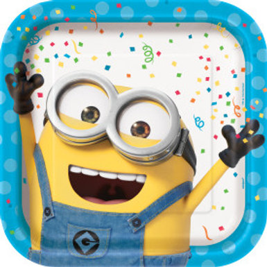 Despicable Me Square Dinner Plate