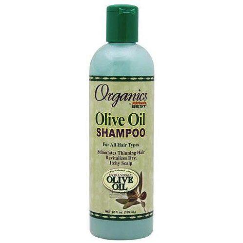 Africas Best Organics Olive Oil Shampoo 355 ml