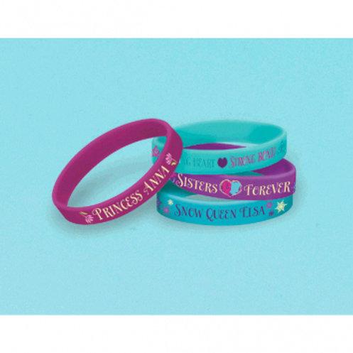 Frozen Rubber Bracelets
