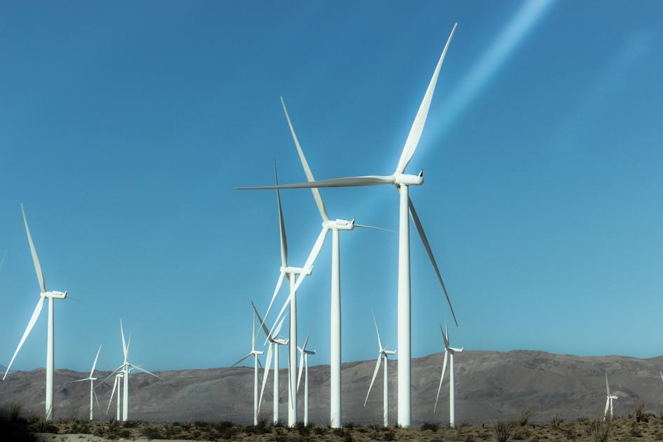 """Wind Turbines"" Calexico, California. 2017"