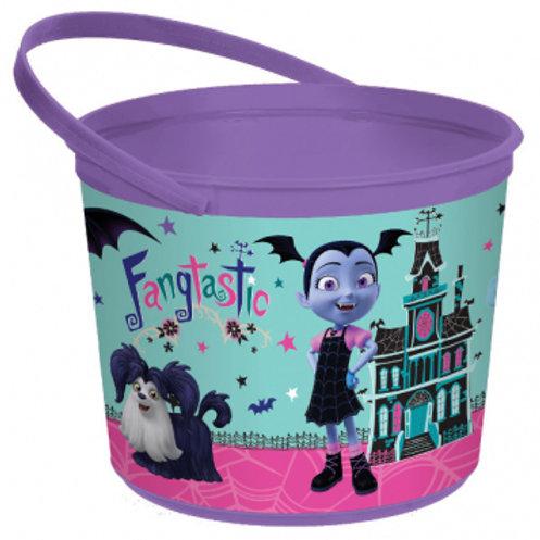 Disney Vampirina Plastic Favor Container