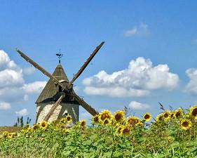 Windmill near Condom