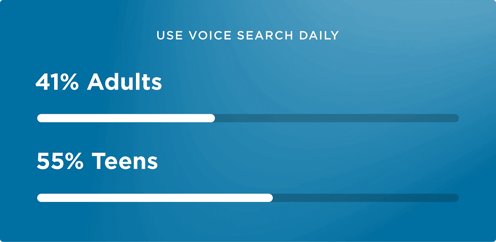 use voice search daily - SEO 2020