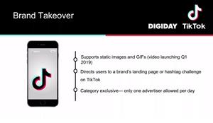 Brand takeover ads