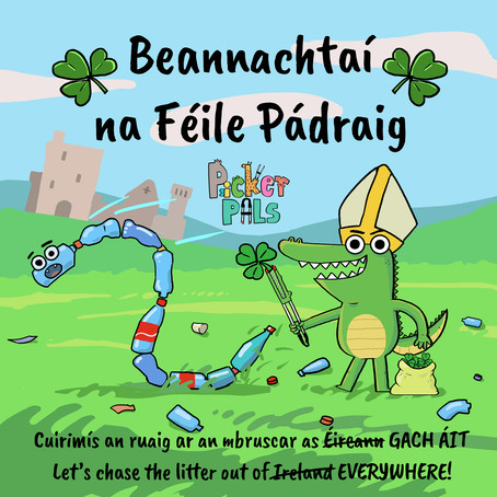 St. Patrick's Day: Driving the Littering Problem Out of Ireland