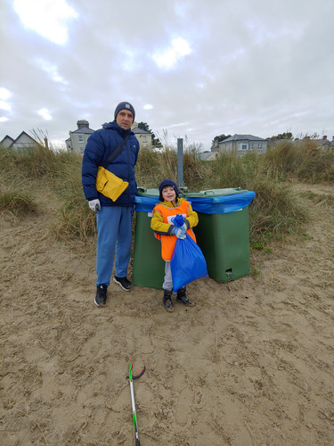 Litter Picking With Dad