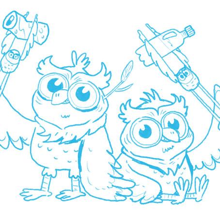Meet the Pick Up Owls!