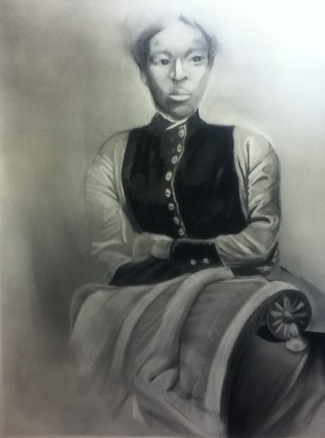 Woman at the Chair