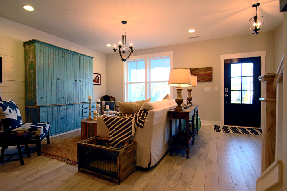 Blue House Living Room