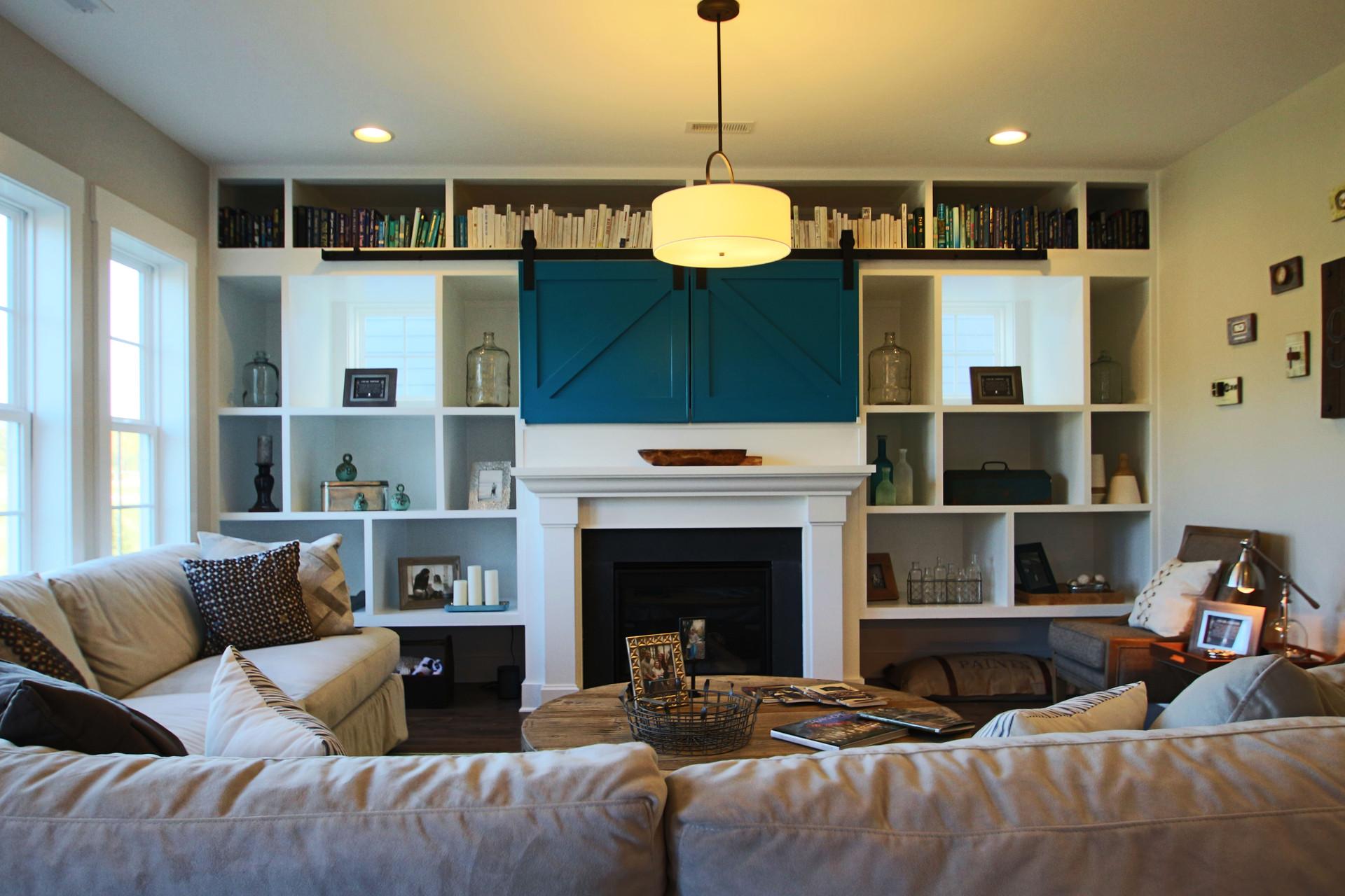 Maroon House Living Area