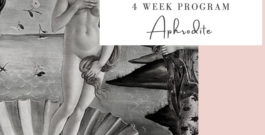 Sensual Womban Program- Aphrodite